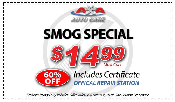 THE FRANK'S EUROPEAN SERVICE ADVANTAGE FOR SMOG TESTING AND REPAIR